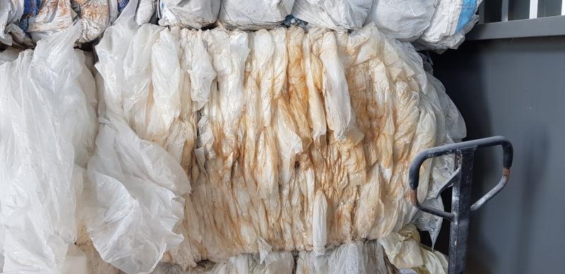 Продам отходы пленки ПВД под переработку