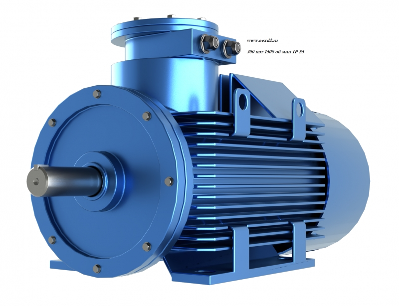 Электродвигатель ассинхронный 300 квт  1 500  об/мин