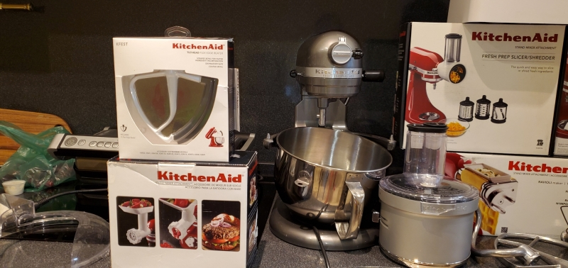 Миксер планетарный KitchenAid 5