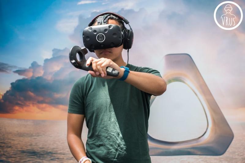 Прокат комплекта виртуальной реальности HTC Vive