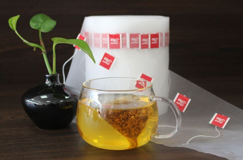 Упаковка из нейлона для чая в пирамидки
