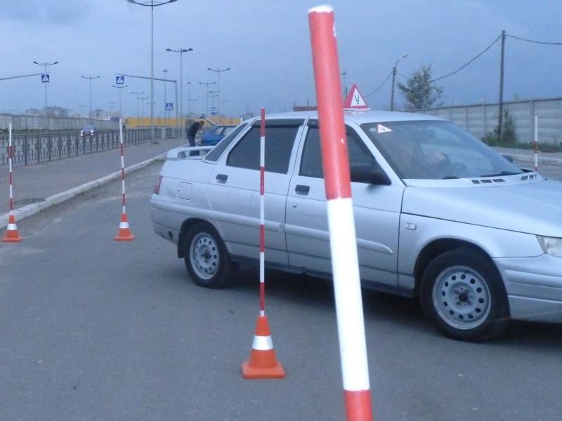 Обучение вождению. Предоставление авто на экзамен