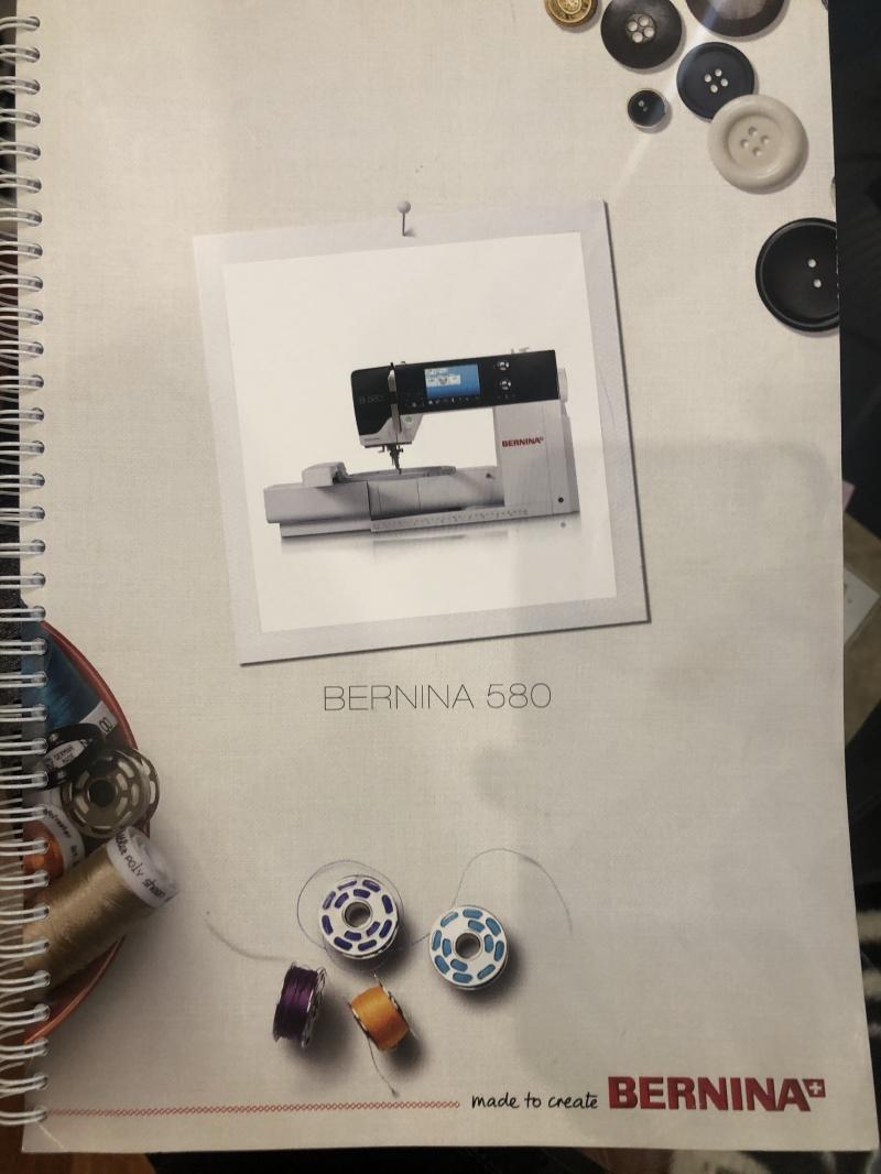 Швейная машина bernina 580