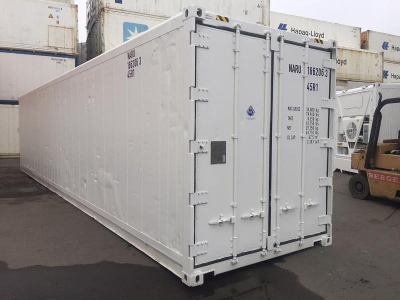 Рефконтейнер для сохранности продуктов40ф