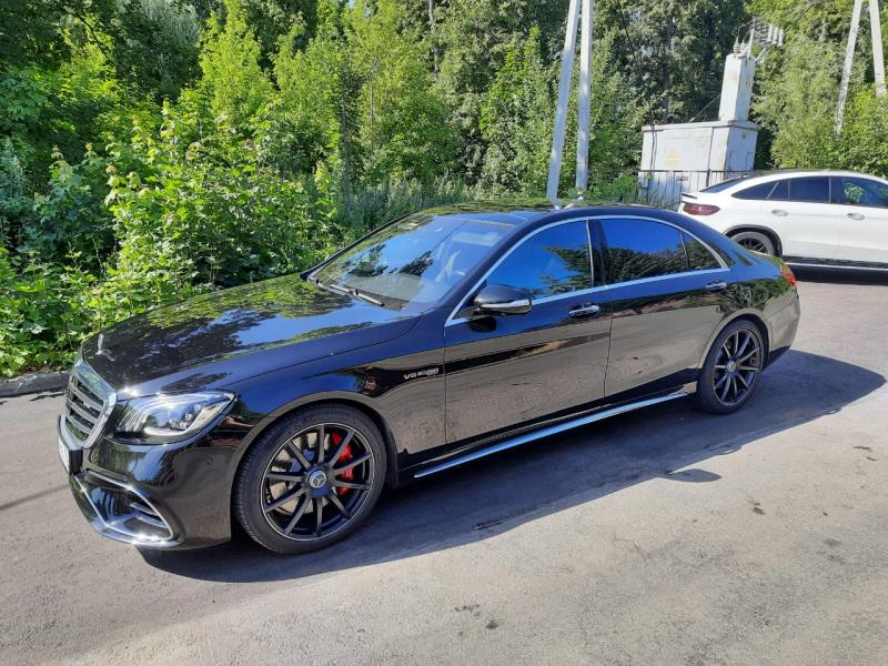 Mercedes S-класс AMG, 2018 Продам СРОЧНО!!!
