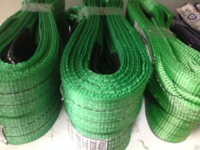 Стропы текстильные петлевые