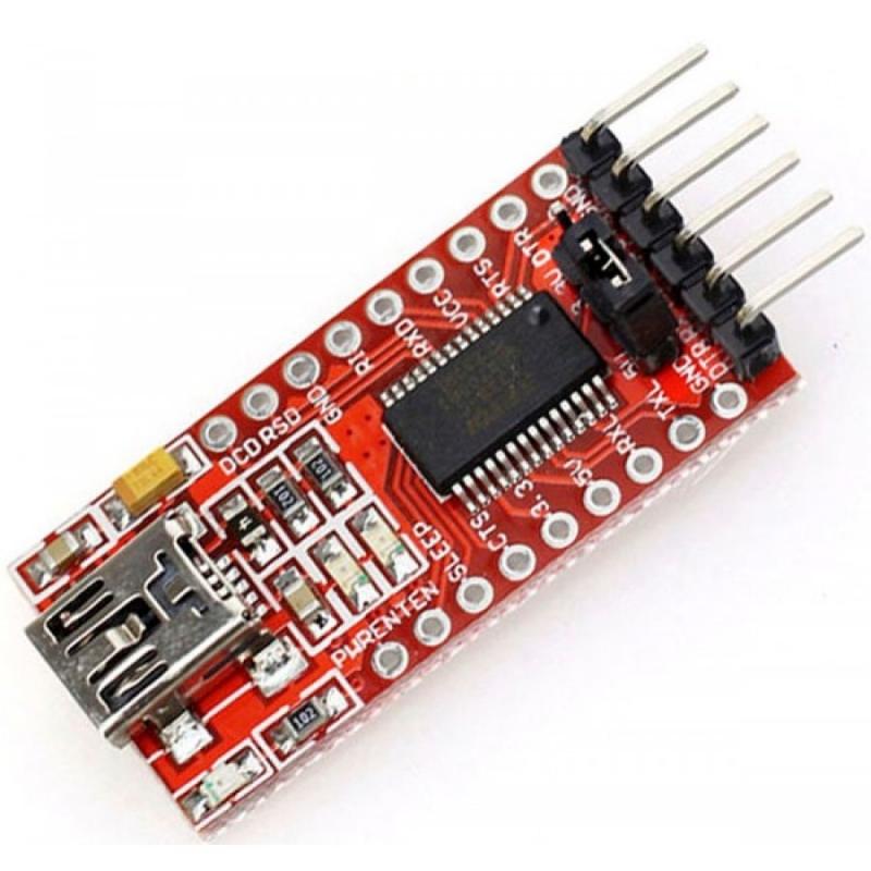 USB-UART преобразователь FT232RL