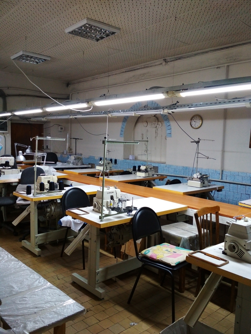 Продается  швейное производство