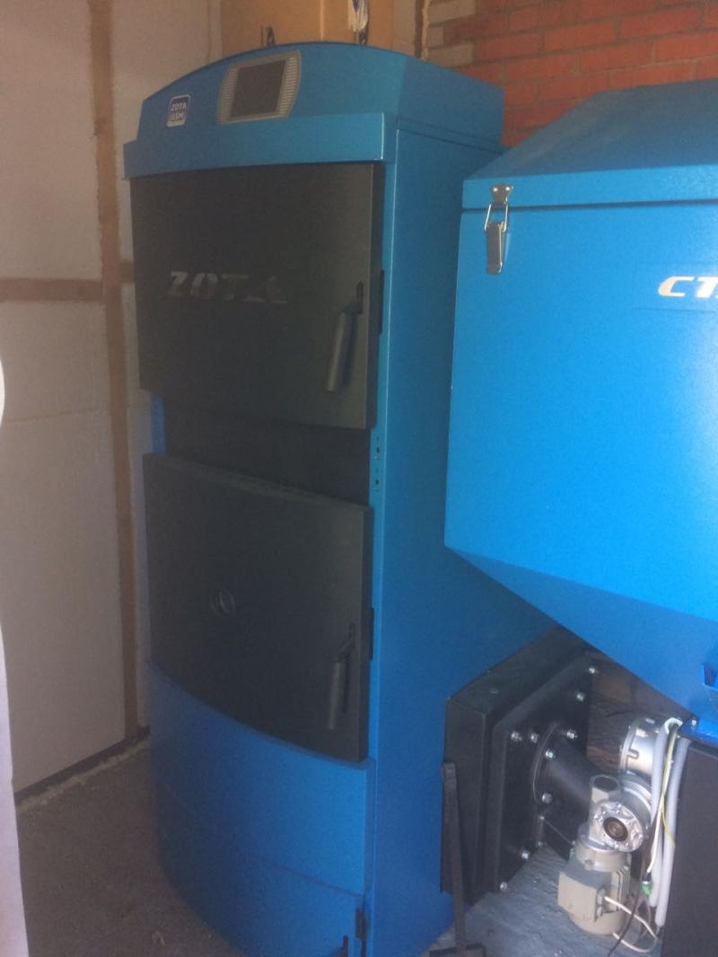Продам ZOTA Стаханов 63 Угольный котел длительного горения, автоматический