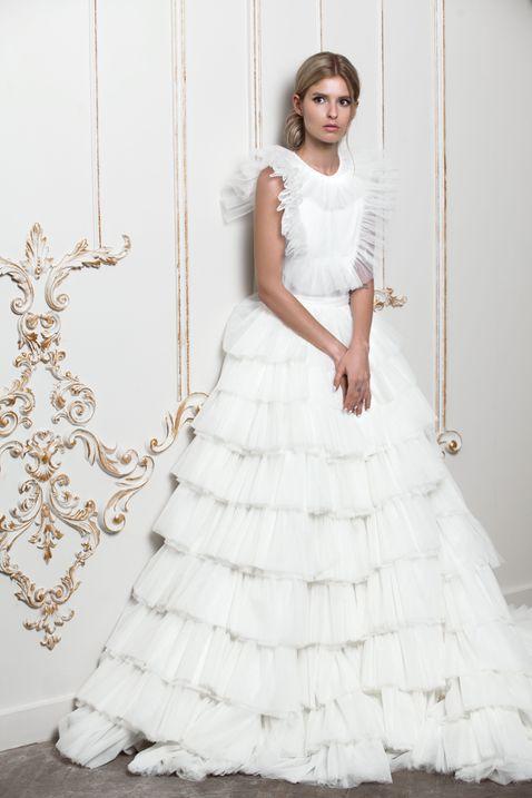 Свадебное платье Юлии Прохоровой (Beloe Zoloto)
