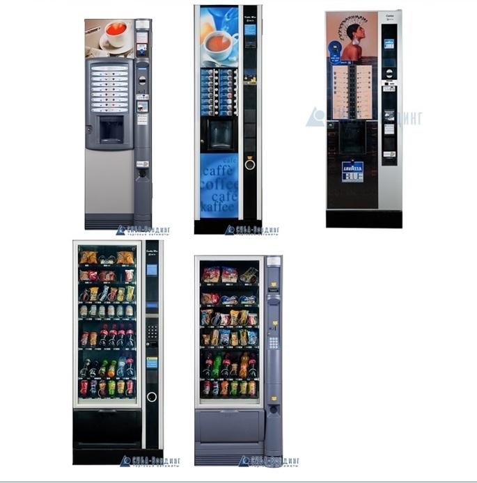Установка и обслуживание кофейных и снековых автоматов (вендинг)