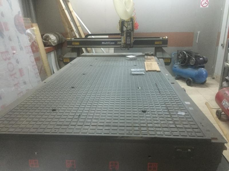 Станок фрезерно-гравировальный MultiCam 3000
