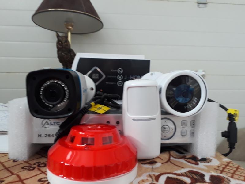 Установка систем видеонаблюдения.Пожарная сигнализация.Мини АТС.Кондиционеры.