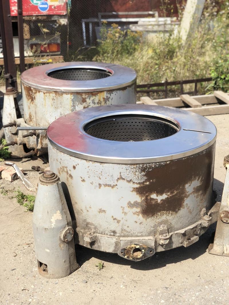 Центрифуга на 50 кг загрузки.