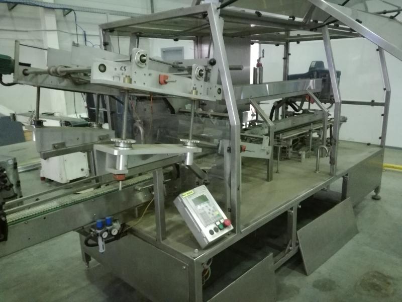 Автоматический картонатор модель CRW 6K