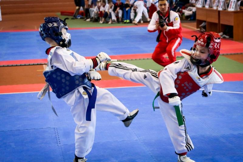 Спортивная секция Тхэквондо ВТ для детей и подростков Кожухово