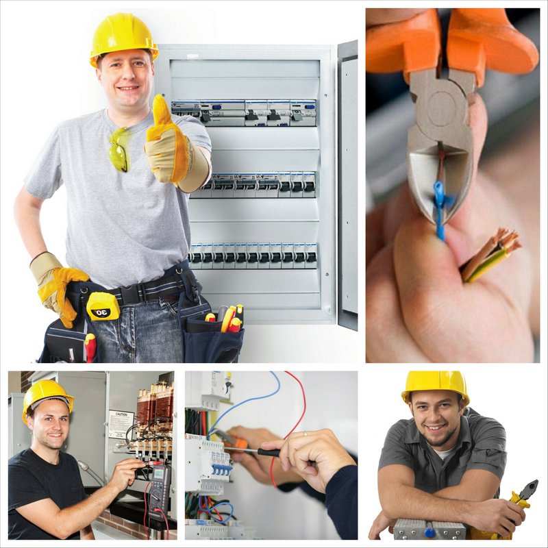 Услуги электрика и сантехника