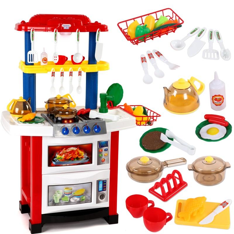 Детские кухни с водой звуком и светом