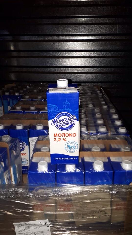 Молоко МИНСКАЯ МАРКА 3, 2% гост 1л/12шт (Беларусь)