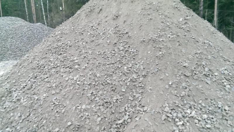 Купить Щпс, щебень, отсев, песок с доставкой Санкт-Петербург и Лен.область