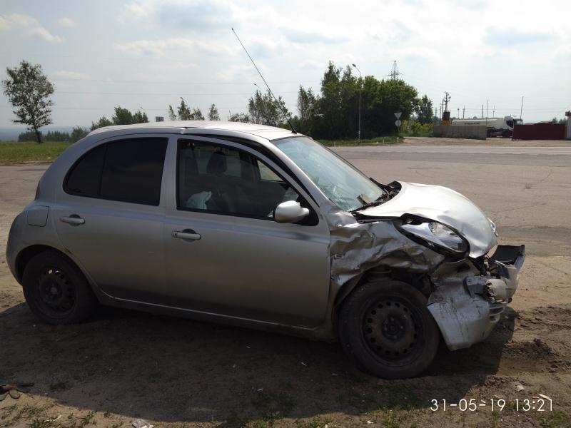 Автомобиль после аварии