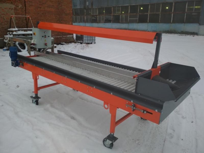 Оборудование для сортировки свеклы