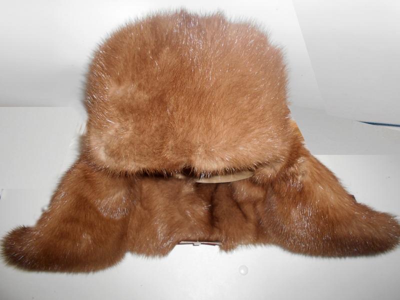 Норковая шапка. Новые 21 шт. Полностью из меха