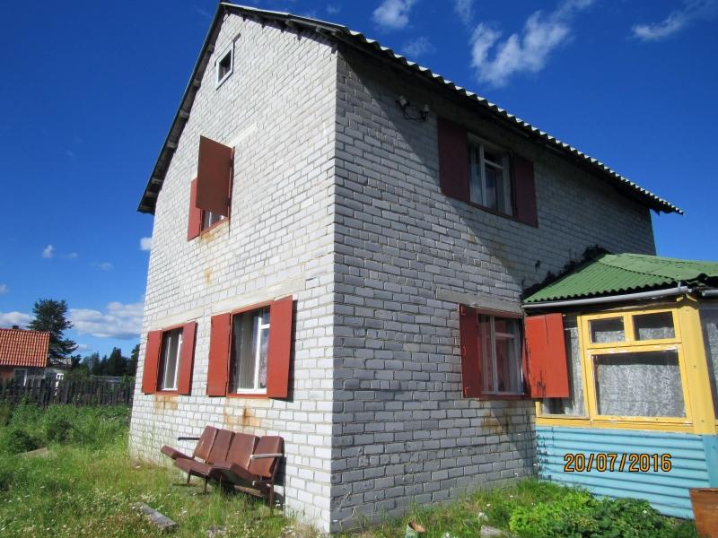 Дом 110 м2 с разработанным участком