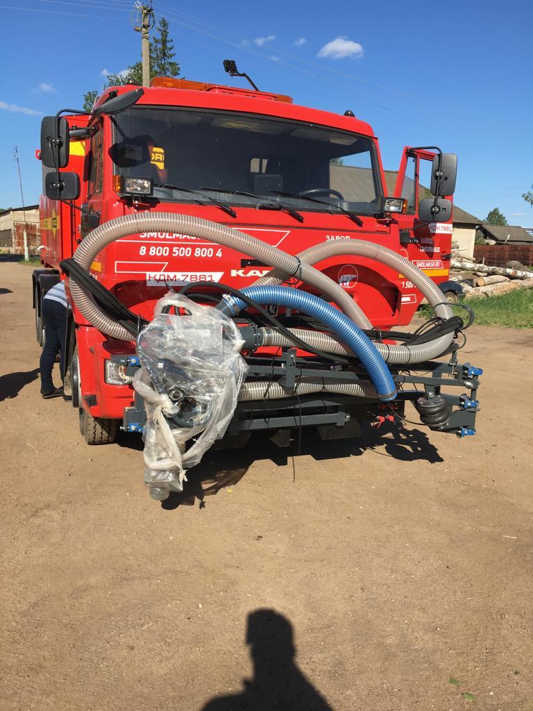 Машина для ямочного ремонта Hydrog