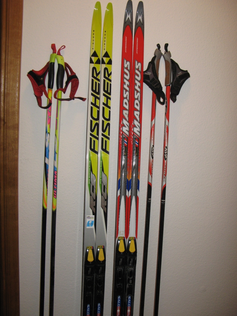 Продоются лыжи. Коньковые. FISCHER и MADSHUS