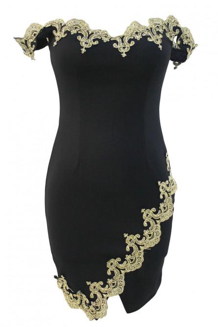 Винтажное праздничное платье