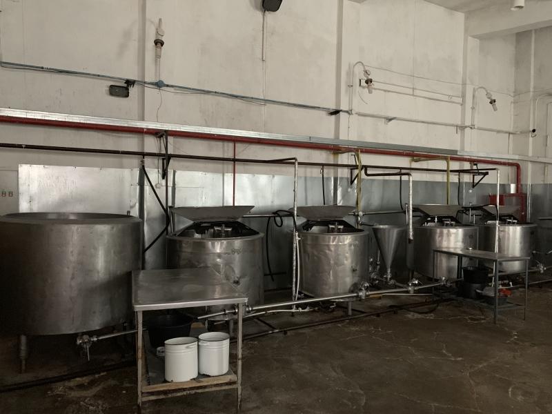 Продаю линию по производству сливочного масла и спреда