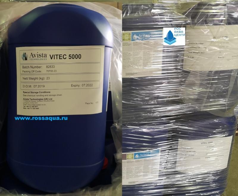 Антискалант  VITEC  5000 , ингибитор осадкообразования  VITEC  3000.