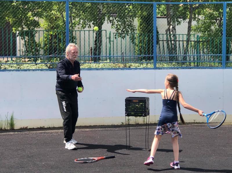 Тренер - детский теннис.