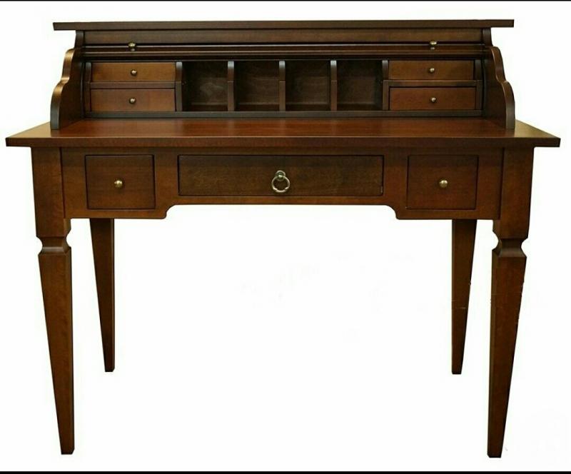 Классический письменный стол Секретер бюро массив