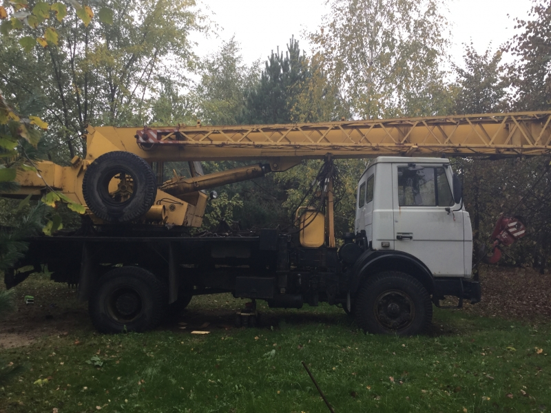 Ивановец КС 35715  16т 11,2л 9500км 2002 г