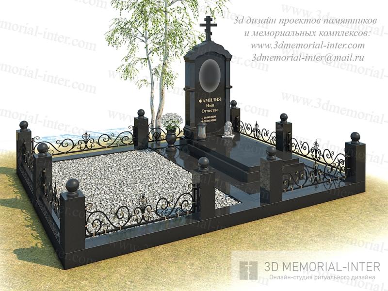 Дизайн памятников