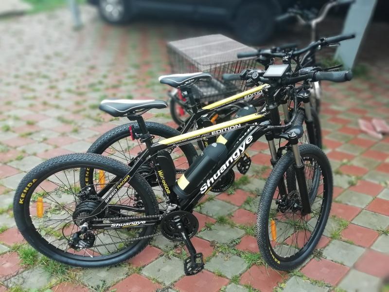 Электровелосипеды 80км.без педалей