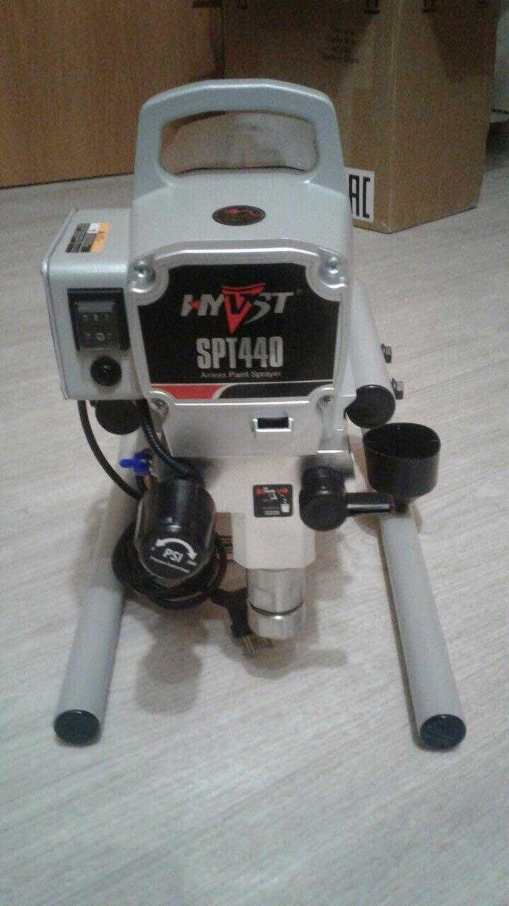 Безвоздушное окрасочное оборудование HYVST SPT 440