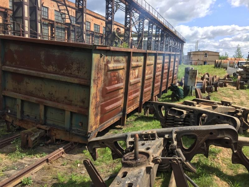 Выкуп списанных вагонов ржд, резка вагонов, сдать вагоны в металл, колесные пары