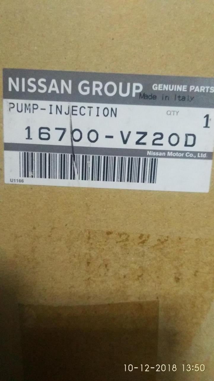 ТНВД на Nissan Cabstar