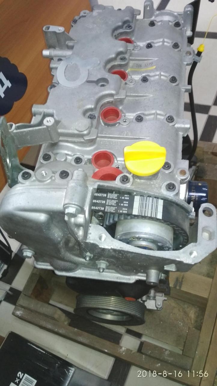 Двигатель новый Renault Duster 2,0L