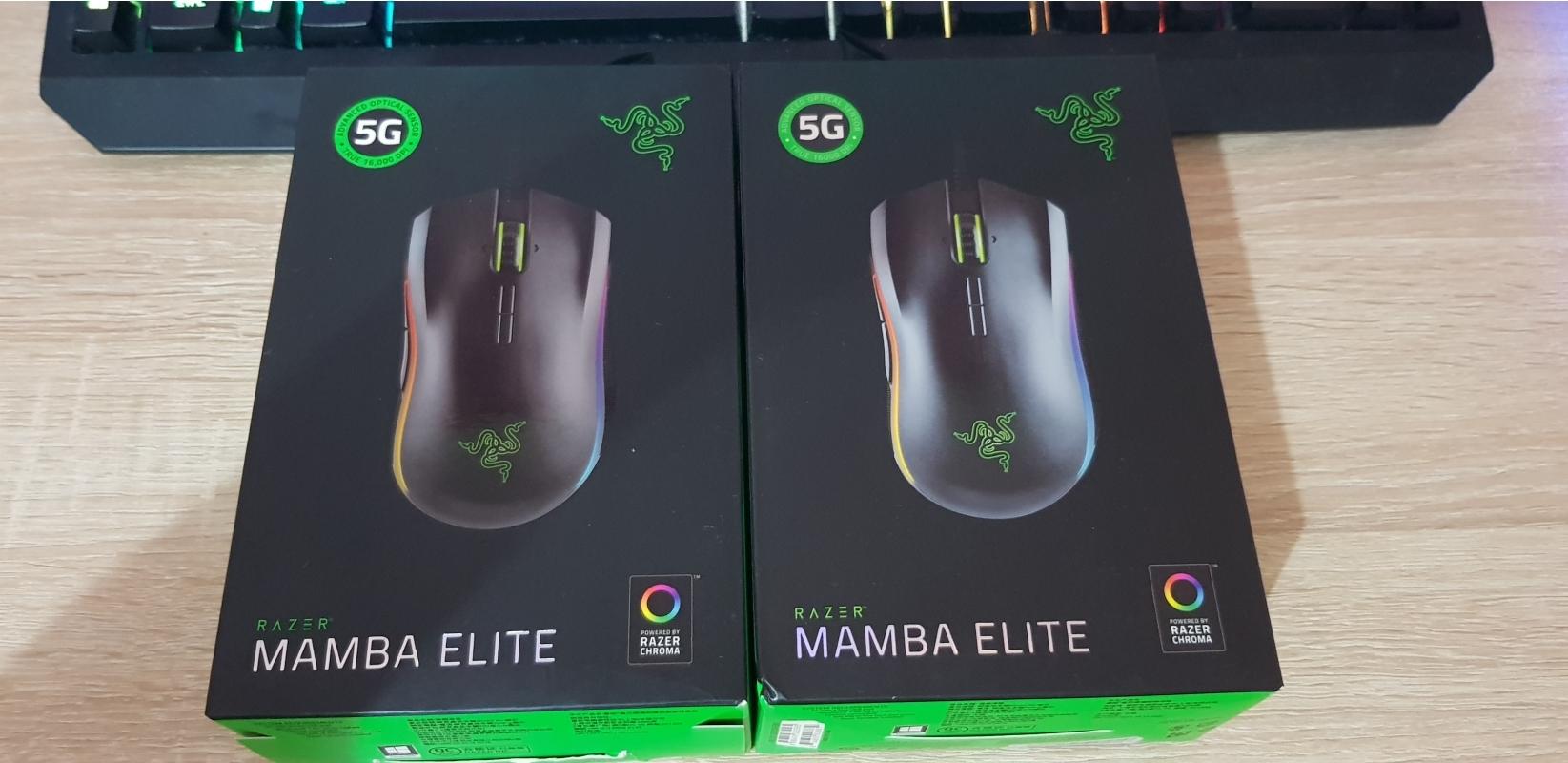 Razer Mamba Elite Топовая игровая мышка