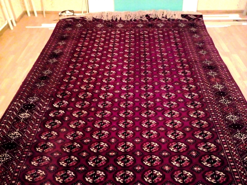 Туркменские текинские ковры ручной работы