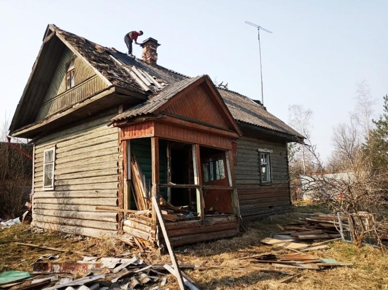Снос дачных домов