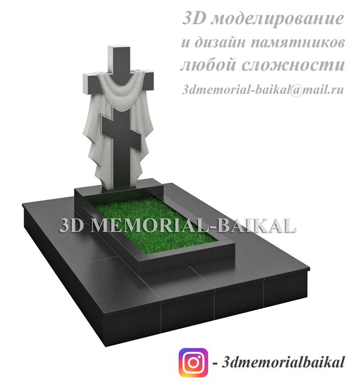 Дизайн памятников 3dmemorial-baikal