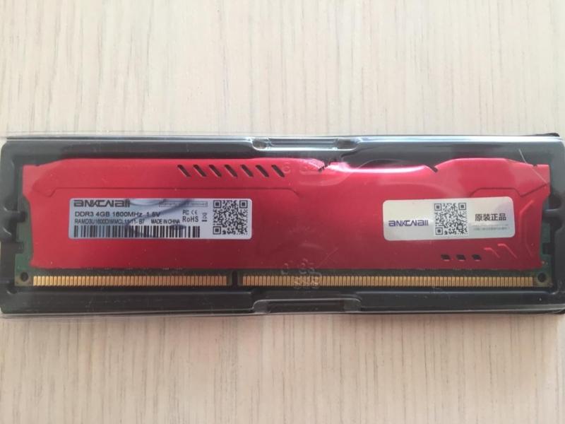 DDR3-4GB 1600MGz