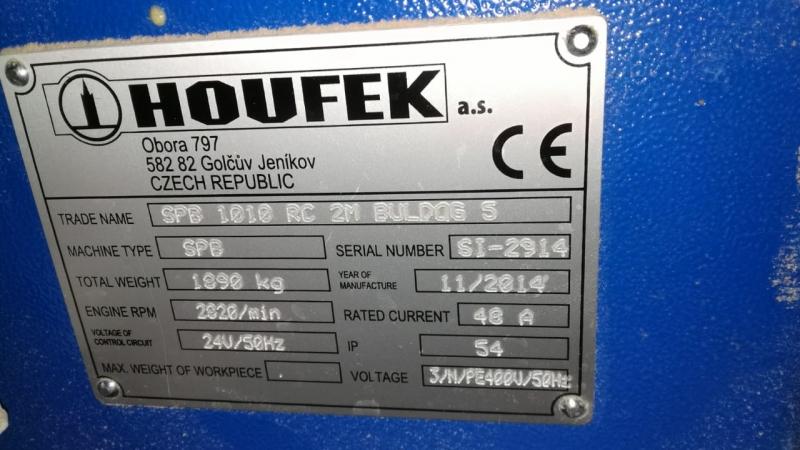 Калибровально-шлифовальный станок Houfek