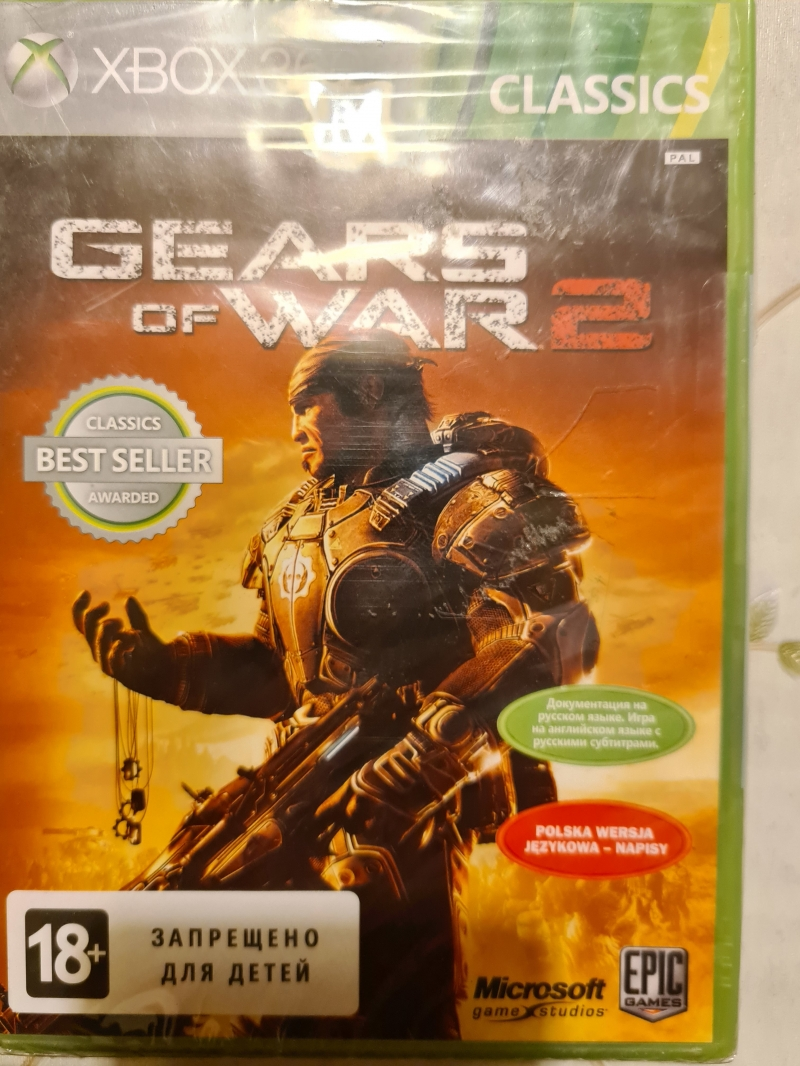 Gears of war 2 для xbox 360