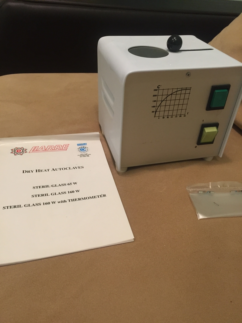 Гласперленовый стерилизатор 160 W Liarre (Италия)
